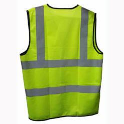 เสื้อจราจรสะท้อนแสง สีเขียว