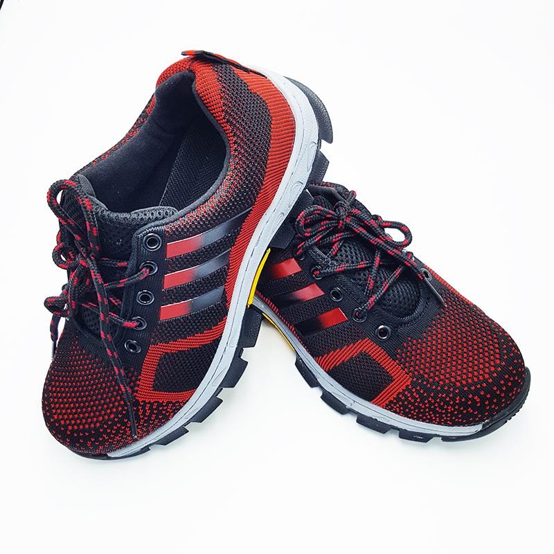 รองเท้าเซฟตี้ สีแดง